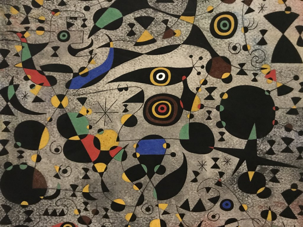 Vue de l'exposition Préhistoire, Centre Pompidou, Paris