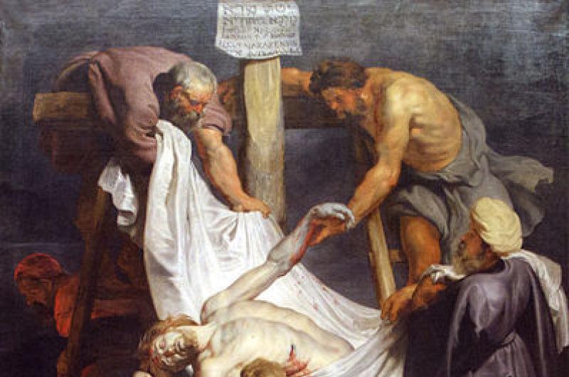 La descente de croix, Rubens.