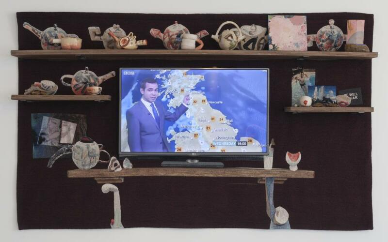 The TV mantelpiece