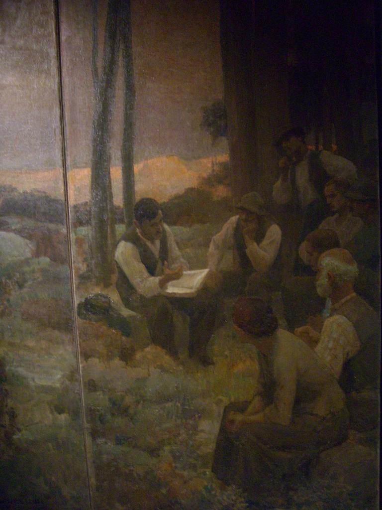 Léon Charles Canniccioni, Retour à la terre, tryptique 2