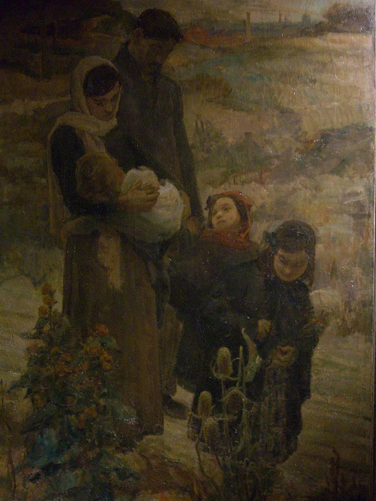 Léon Charles Canniccioni, Retour à la terre, triptyque 3