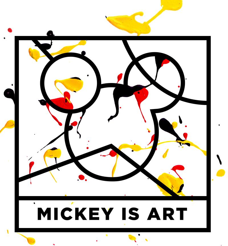 Logo du Concours Mickey is Art