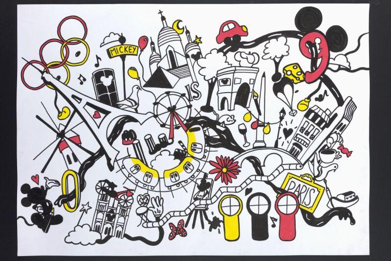 Mickey is art