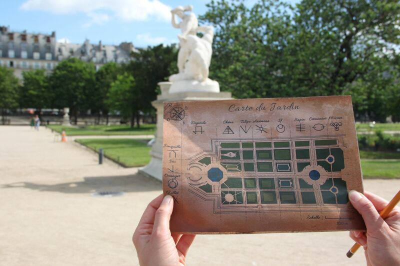 Mystères aux Tuileries