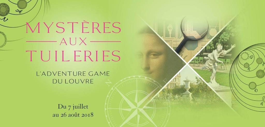 Bon plan – Un adventure game gratuit aux Tuileries | Arts in the City