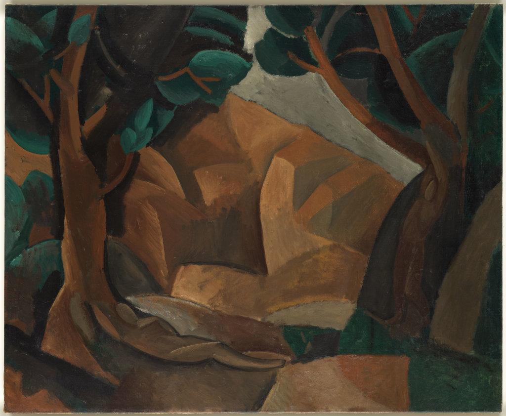 Pablo Picasso, Paysage aux deux figures - Picasso Picabia au Musée Granet à Aix-en-Provence.