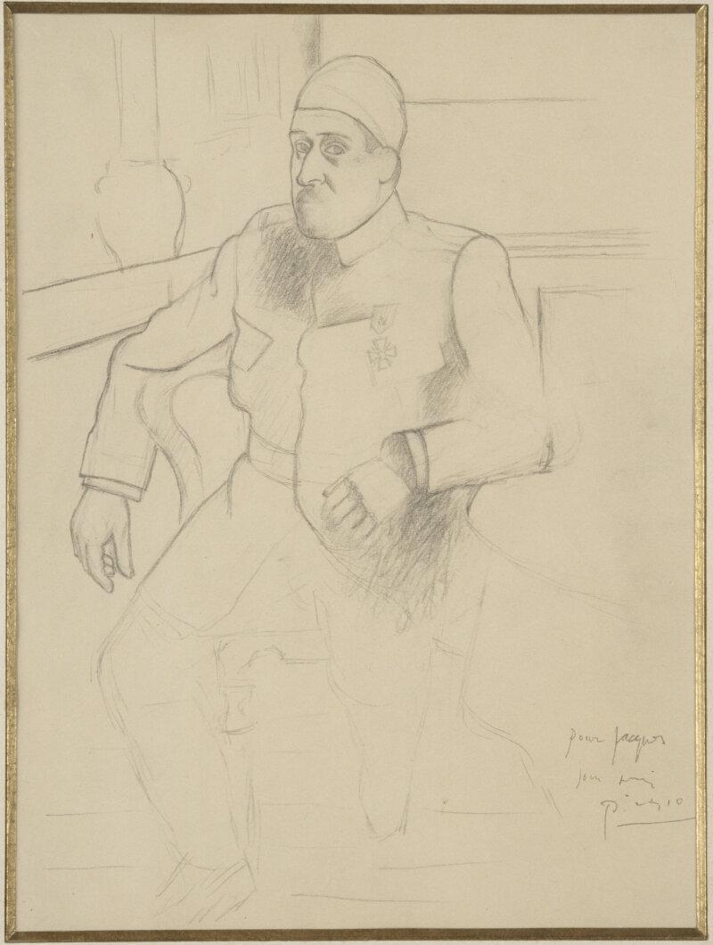 Picasso Pablo (dit), Ruiz Picasso Pablo (1881-1973). Paris, musée national Picasso - Paris. MP1997-4.