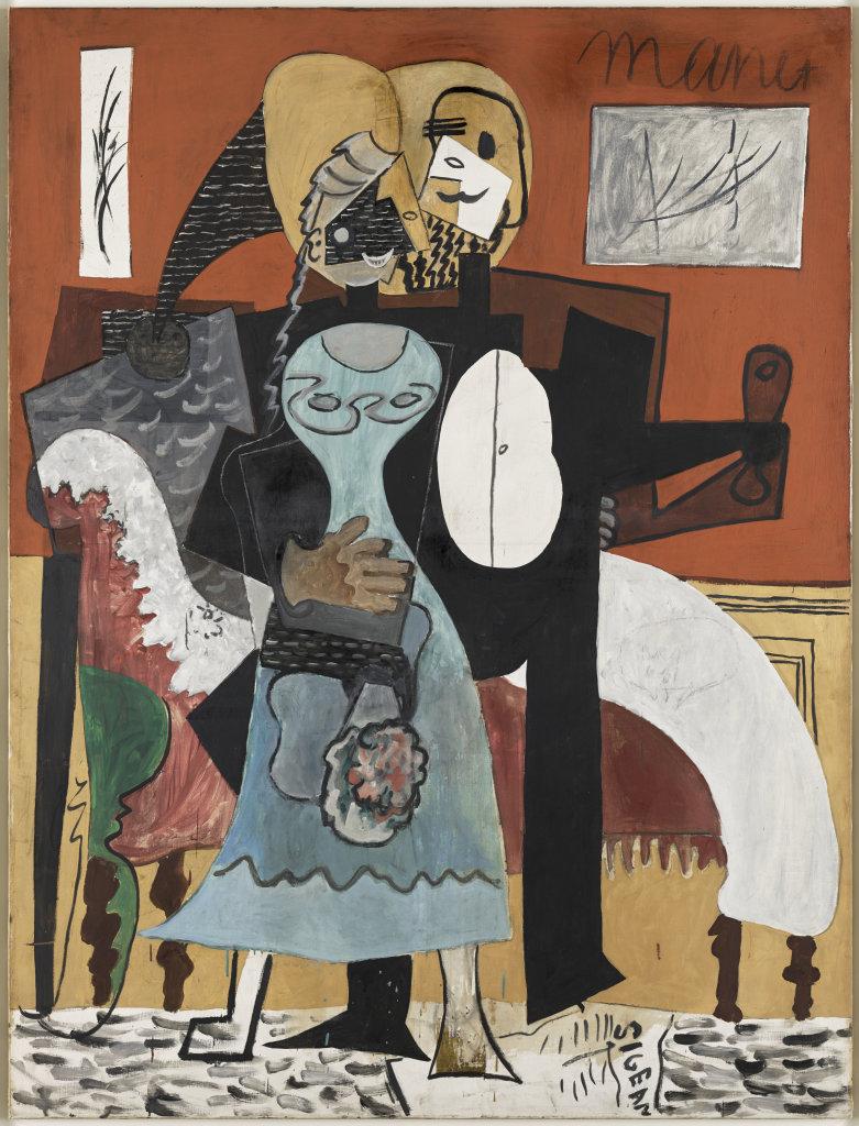 Pablo Picasso, Les Amoureux - Picasso Picabia au Musée Granet à Aix-en-Provence.