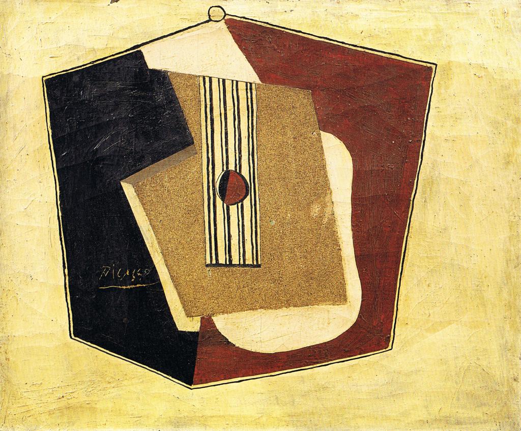 Pablo Picasso, Guitare - Picasso Picabia - Musée Granet - Aix-en-Provence.