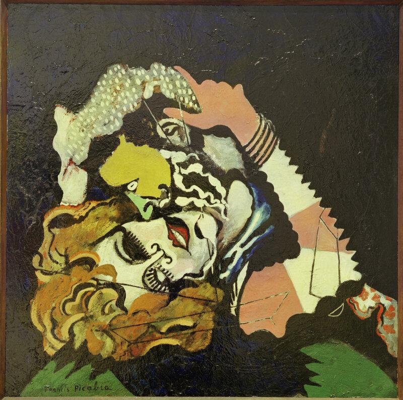 """Picabia, Francis ; 1879–1953.  """"Après la Pluie (Les Amoureux)"""