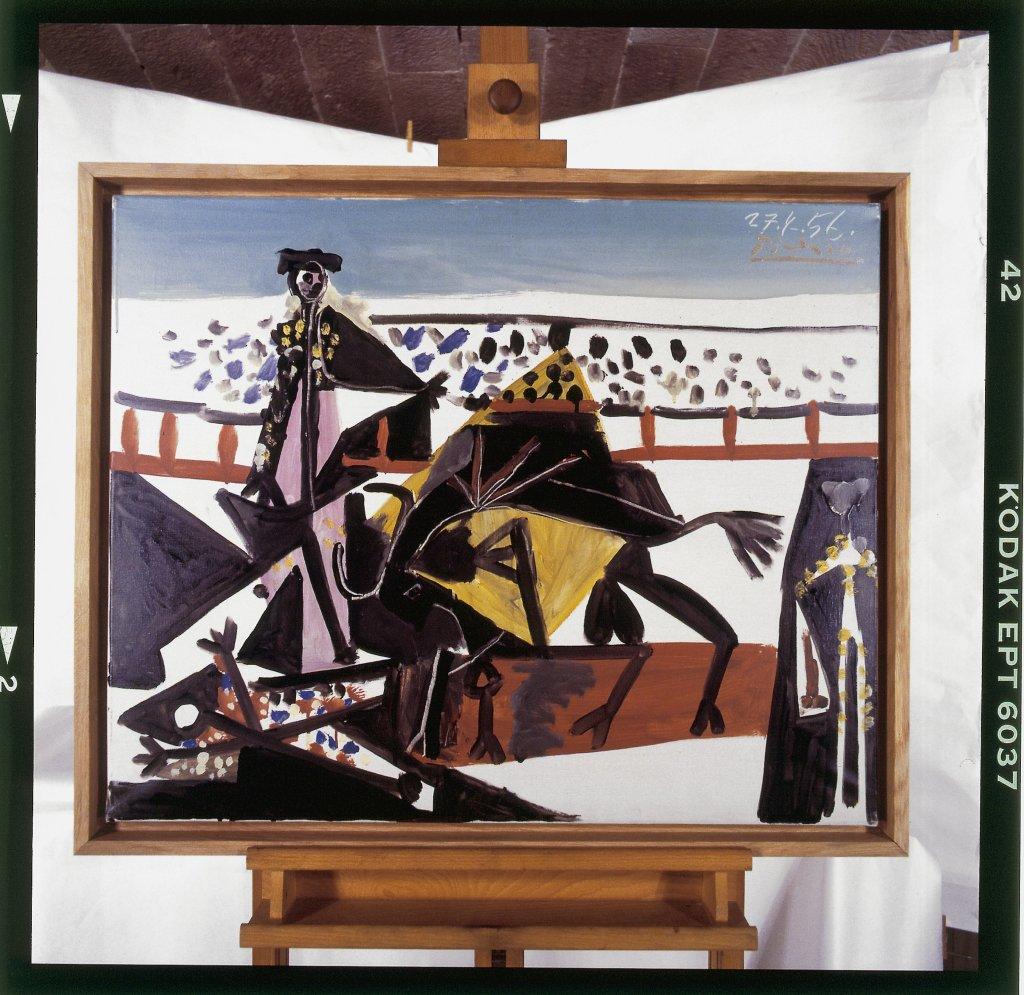Pablo Picasso, Passe de cape - Picasso Picabia au Musée Granet à Aix-en-Provence.