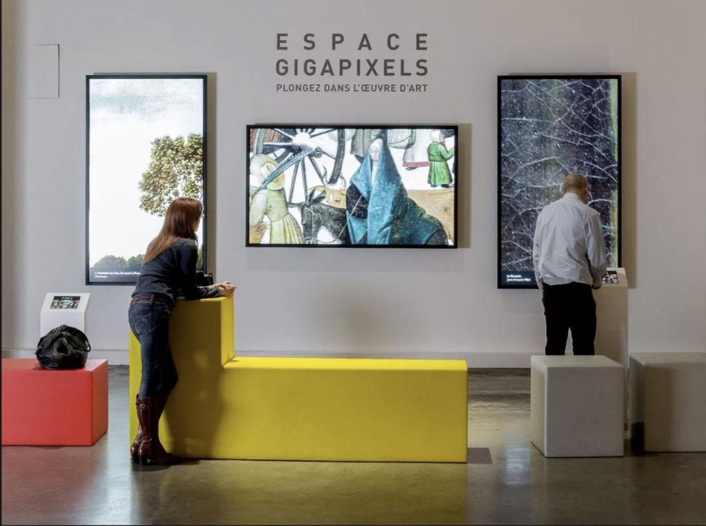 Tableaux en gigapixels - Art # Connexion