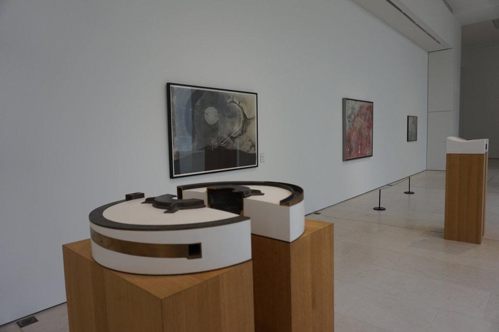 Vue de l'expo Turrell au Musée des Arts de Nantes