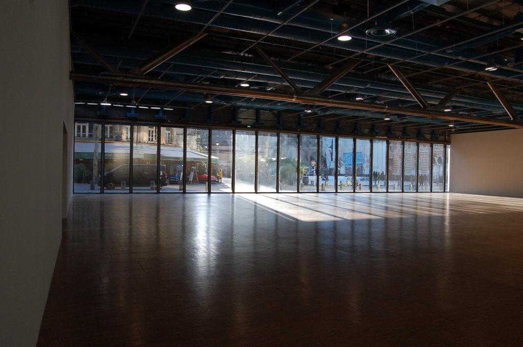 Vue de l'exposition Bernard Frize au Centre Pompidou (20)