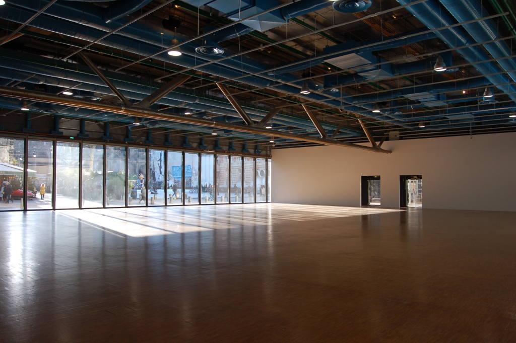 Vue de l'exposition Bernard Frize au Centre Pompidou (21)