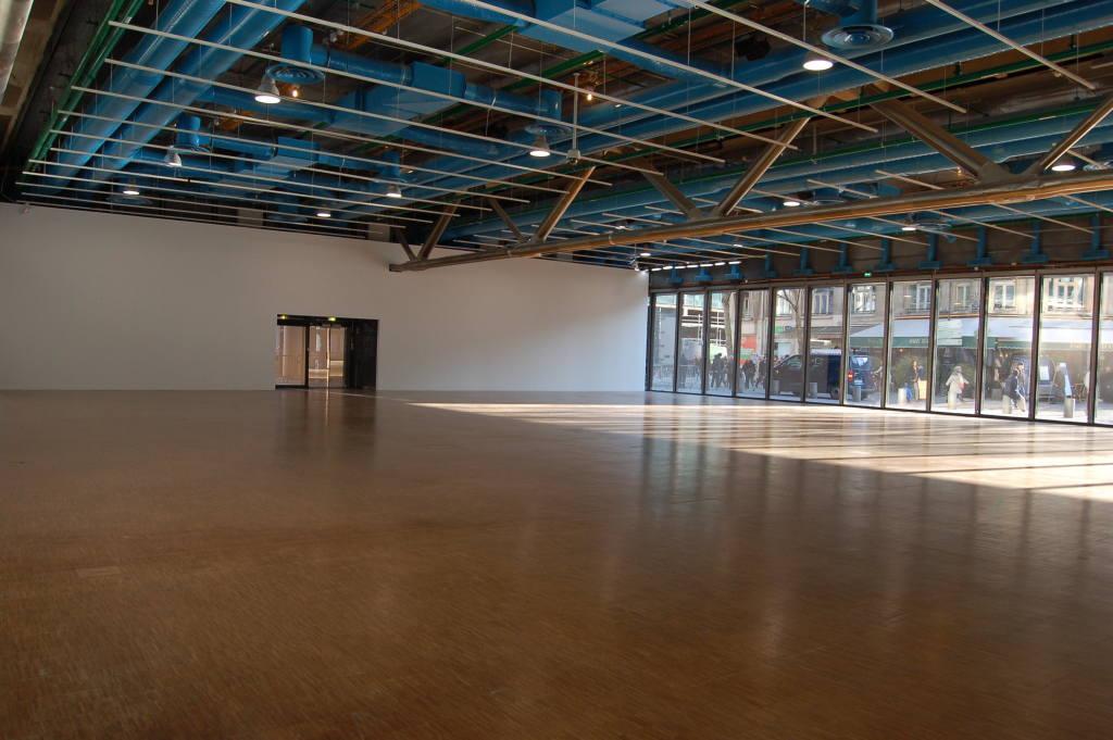 Vue de l'exposition Bernard Frize au Centre Pompidou (22)