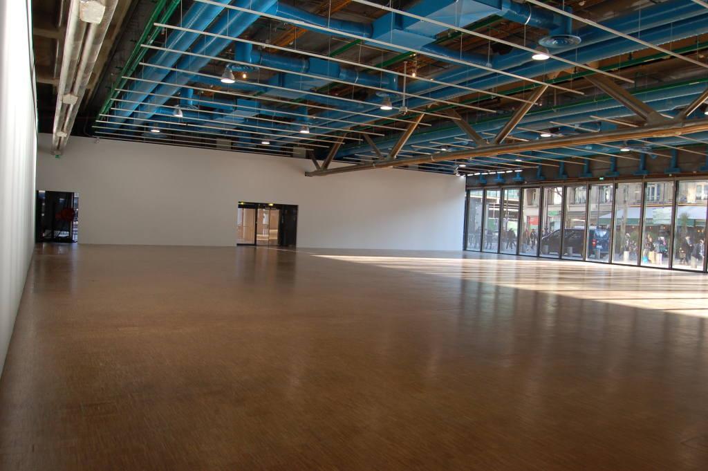 Vue de l'exposition Bernard Frize au Centre Pompidou (23)