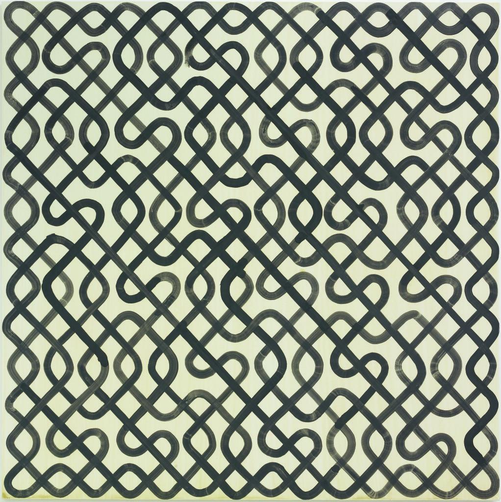 Vue de l'exposition Bernard Frize au Centre Pompidou (27)