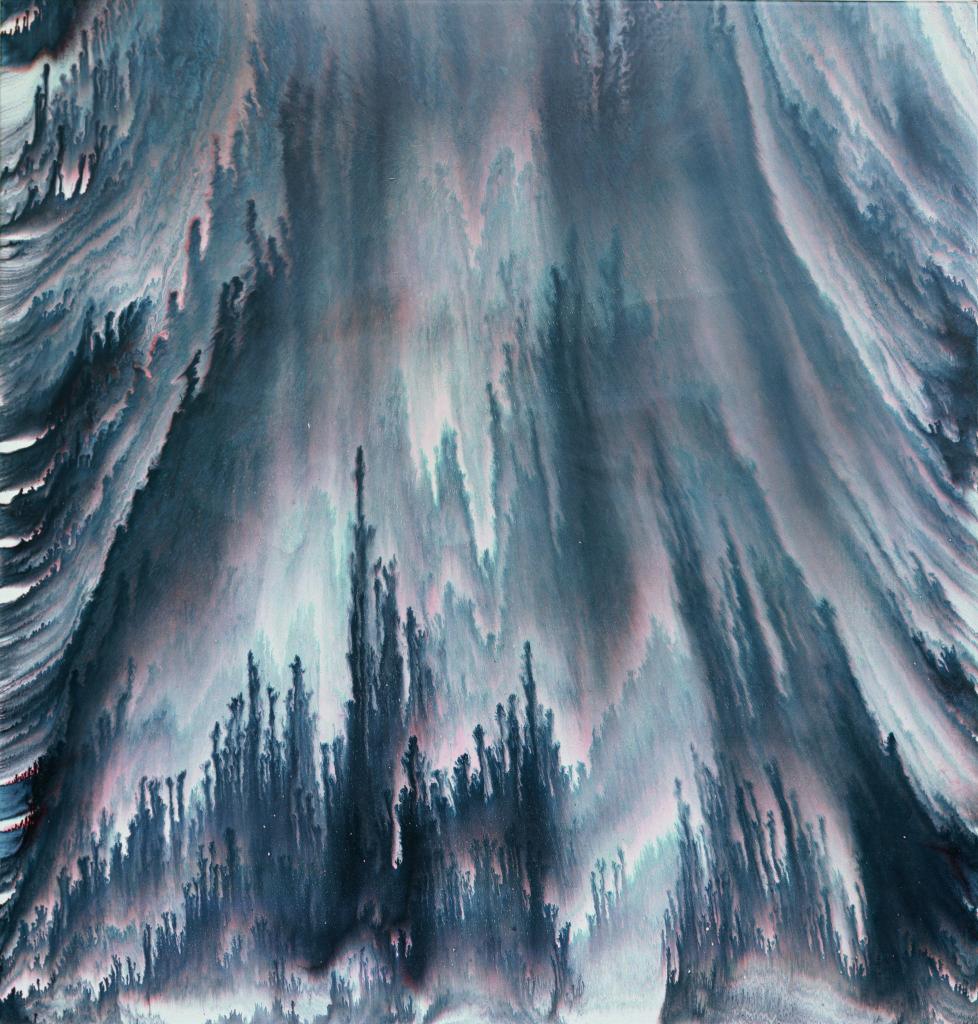 Vue de l'exposition Bernard Frize au Centre Pompidou (28)