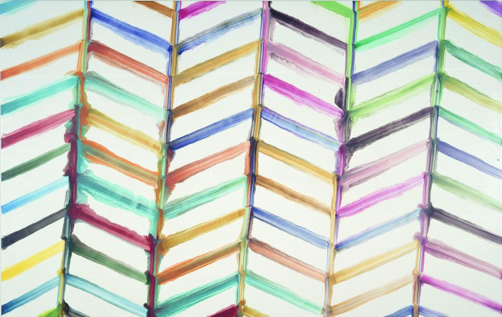 Vue de l'exposition Bernard Frize au Centre Pompidou (29)