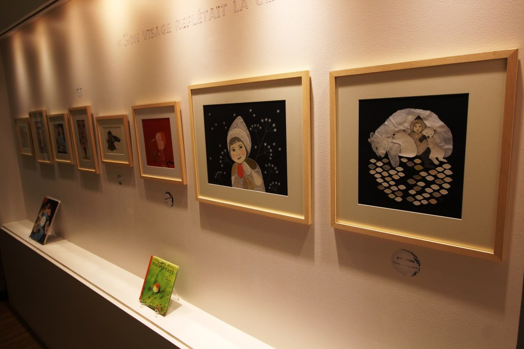 Vue de l'exposition C'est pas du jeu ! - Musée de l'Illustration Jeunesse, Moulins