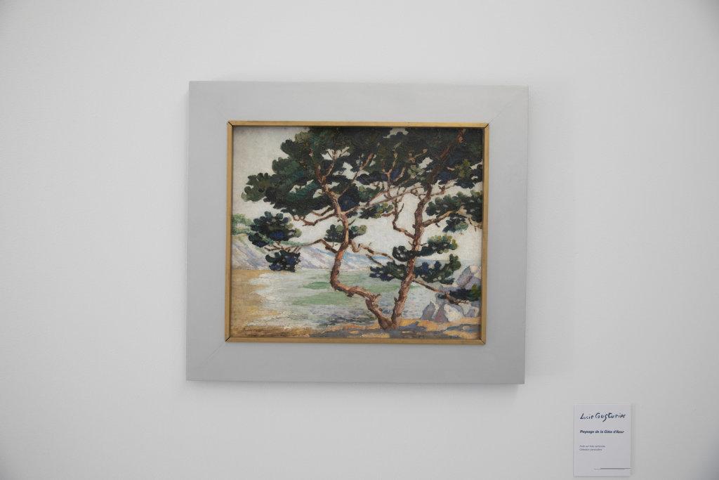 Vue de l'exposition Lucie Cousturier - Musée de Vernon