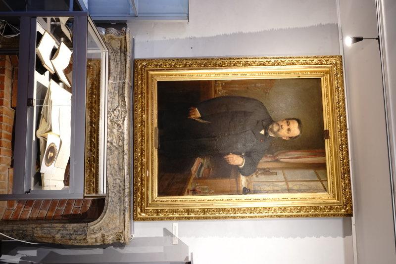 Vue de l'exposition Pasteur à l'oeuvre - Musée de la Vigne et du Vin du Jura, Arbois