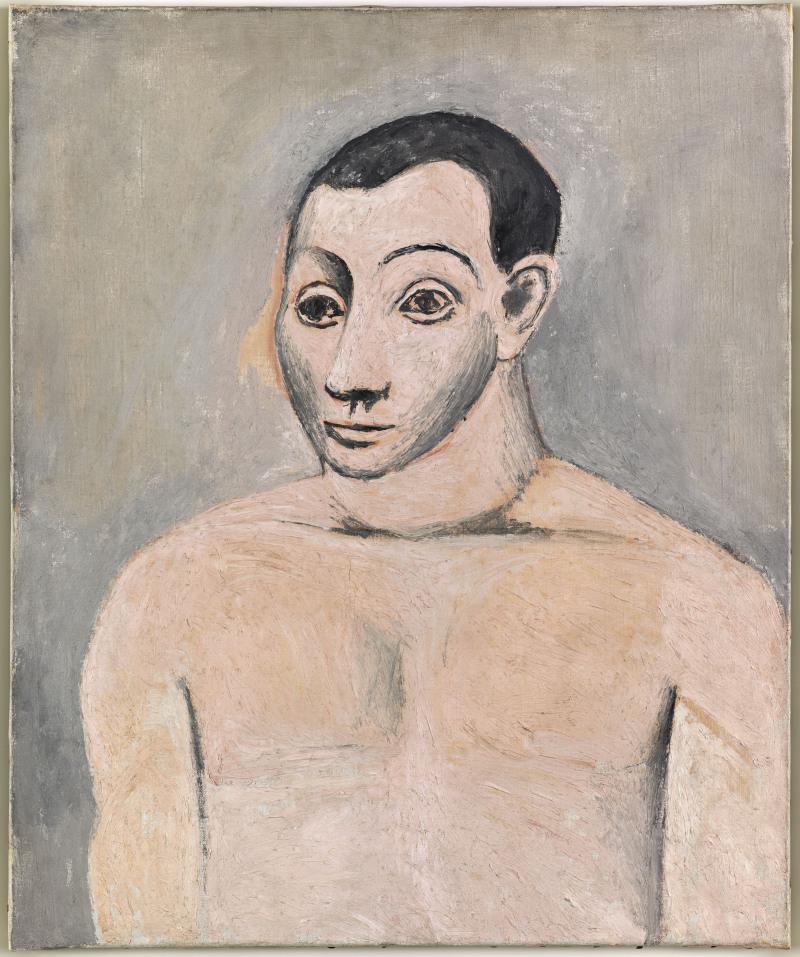 Picasso, Autoportrait
