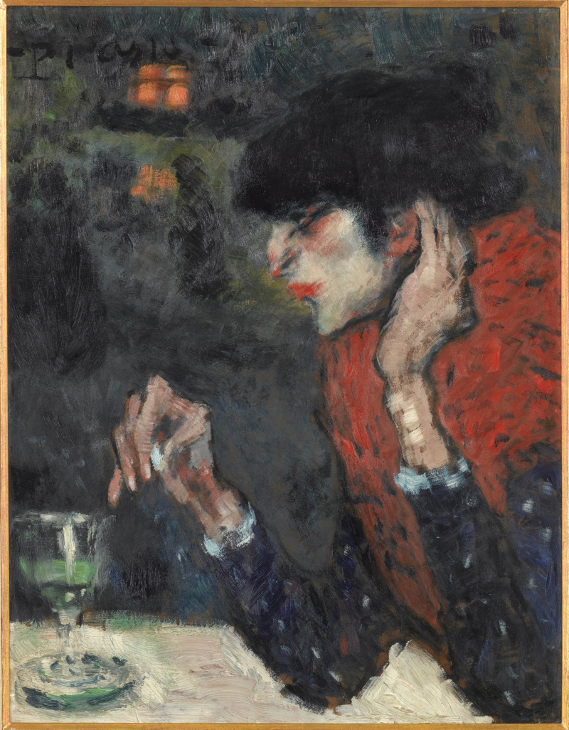Picasso, Buveuse d'absinthe