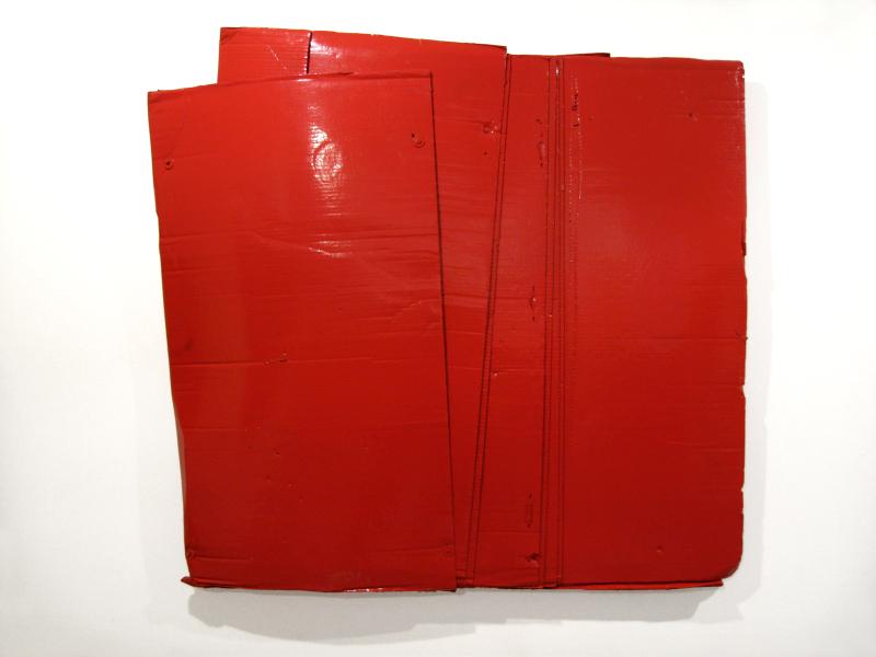 Bernar Venet, Relief carton, 1965