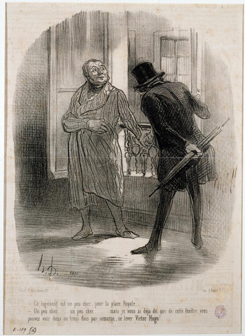 Honoré Daumier (1808-1879).
