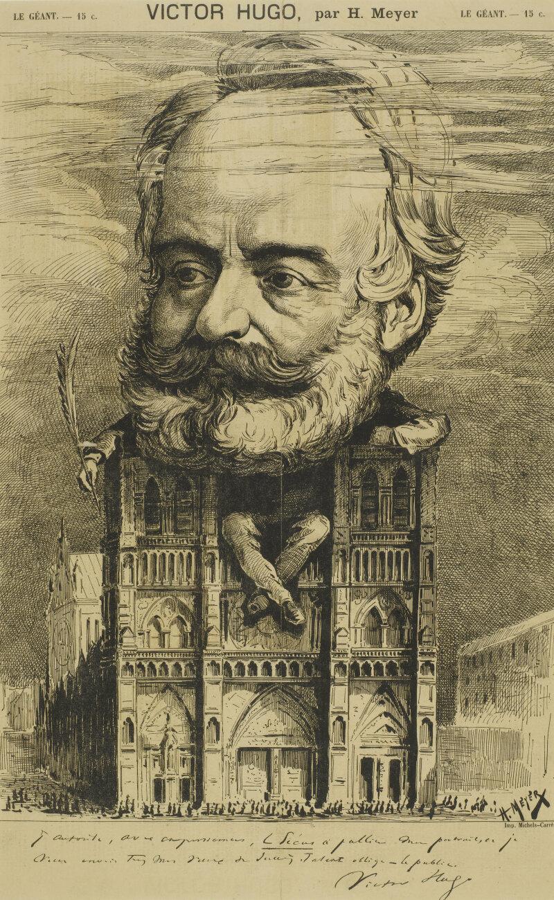 Victor Hugo, par H. Meyer. Le journal