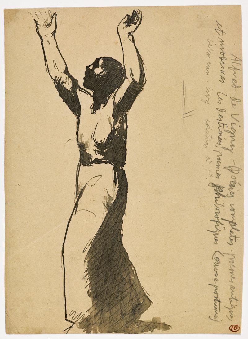 Picasso, Femme implorant le ciel