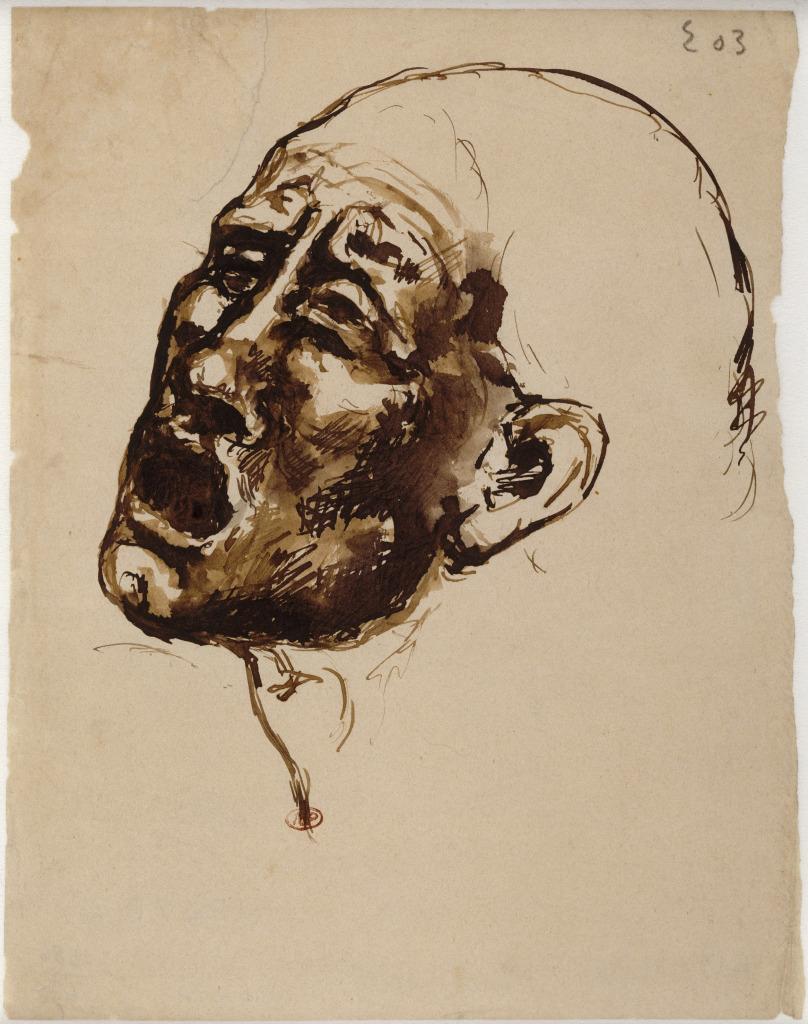 Picasso, Tête de femme criant