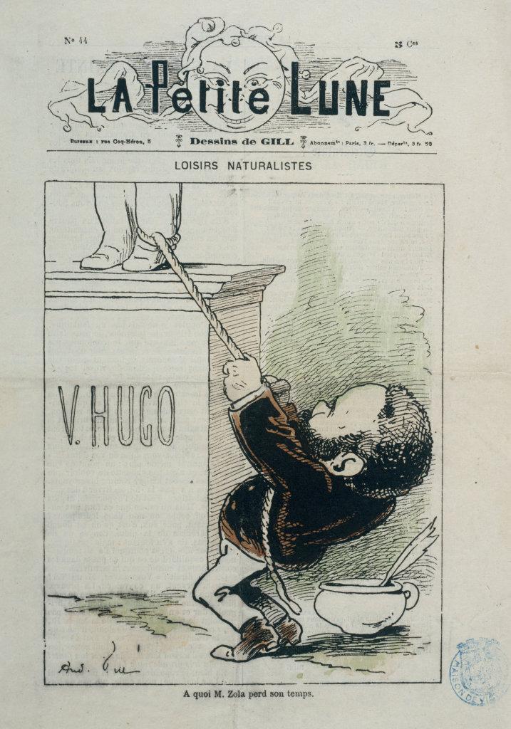 La Petit Lune n°44, 1871, Loisirs naturalistes : à quoi Monsieur perd son temps