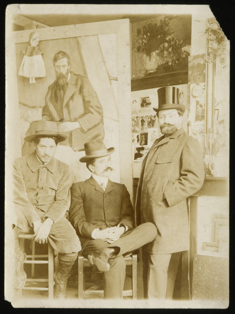 Anonyme, Picasso, Manach et Fuster
