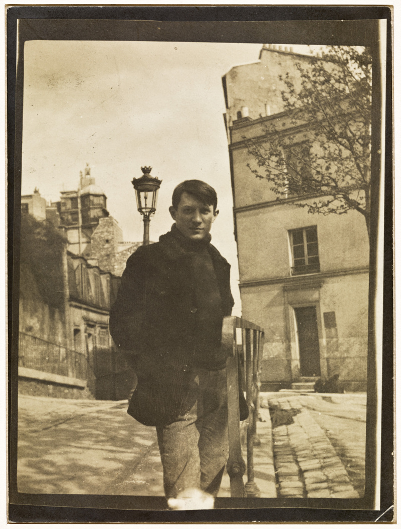 Anonyme, Picasso place Ravignan