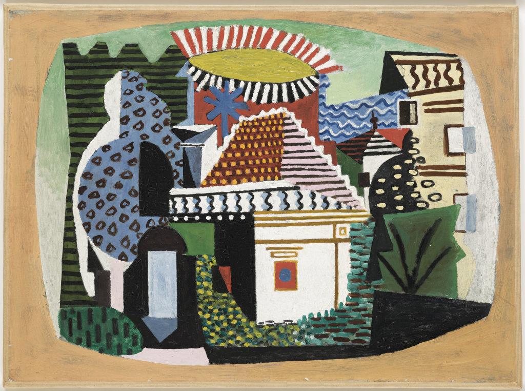 Paysage de Juan-les-Pins, Juan-les-Pins, été 1920