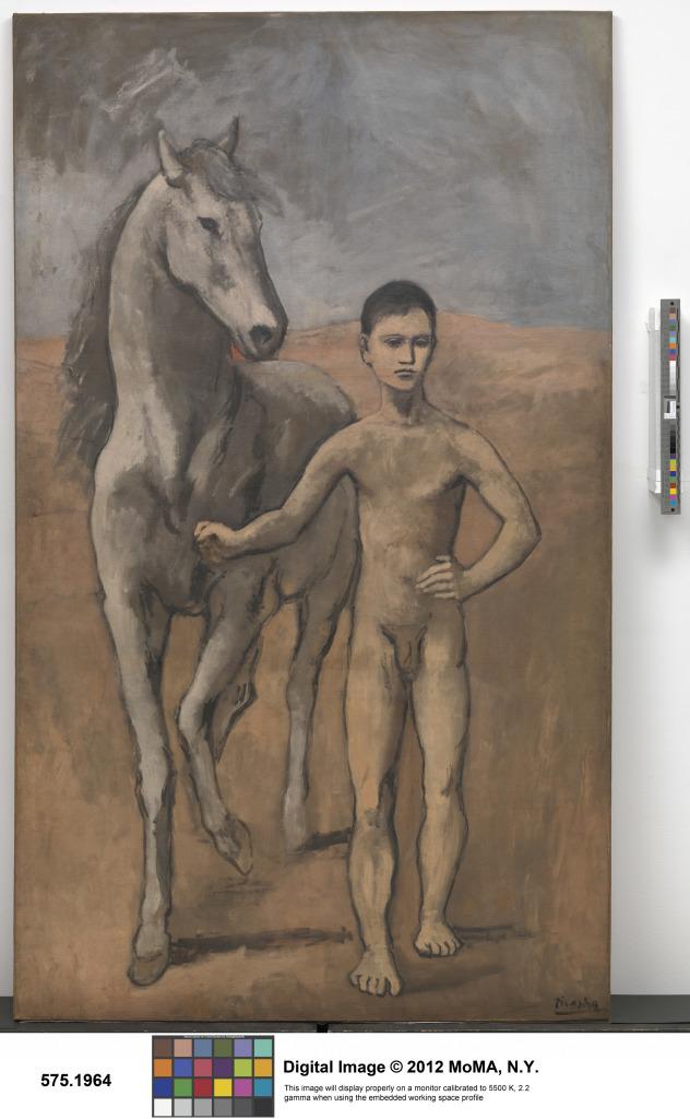 Picasso, Garçon conduisant un cheval