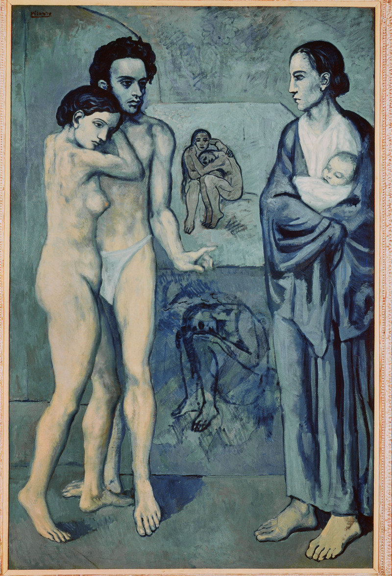 Picasso, Pablo (1881-1973): Life, 1903. Cleveland, Museum of Art*** Permission for usage must be provided in writing from Scala.