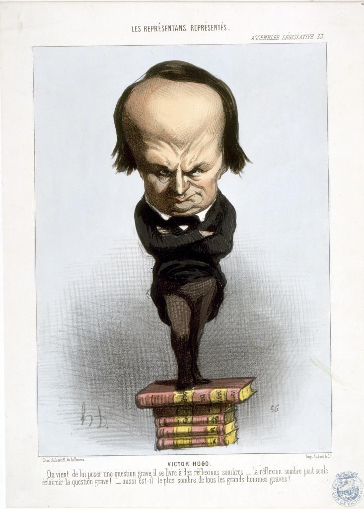Les représentants représentés, assemblée nationale : Victor Hugo