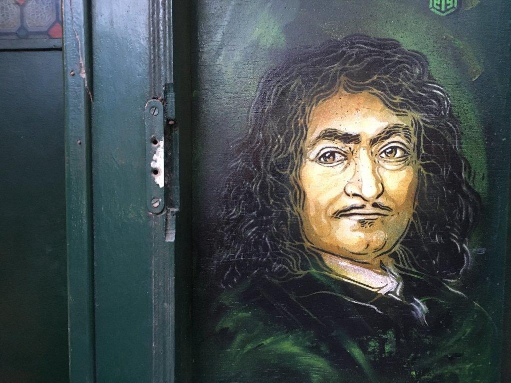 3. René Descartes, à Paris par C215_C215