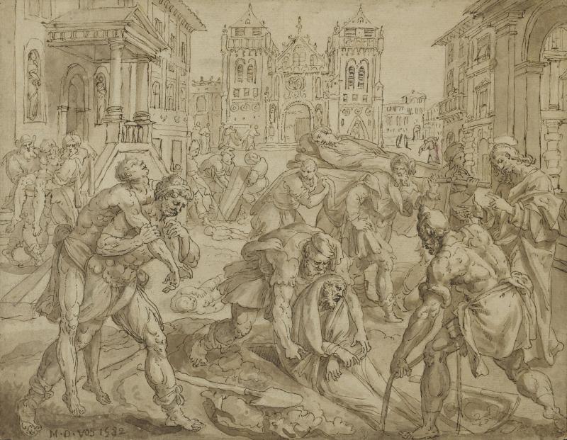 Enterrer les morts - Maarten de Vos