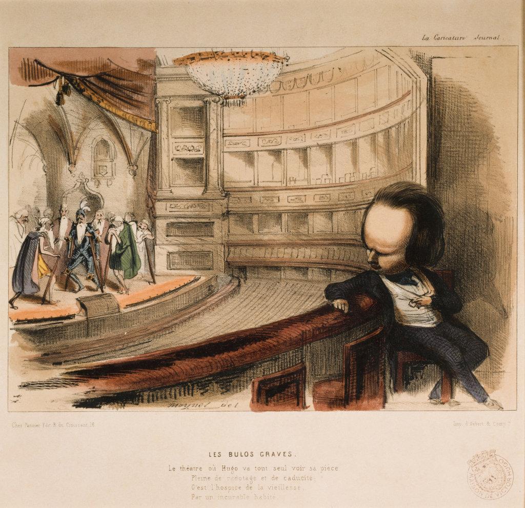Les bulos graves - Journal la Caricature, 1843