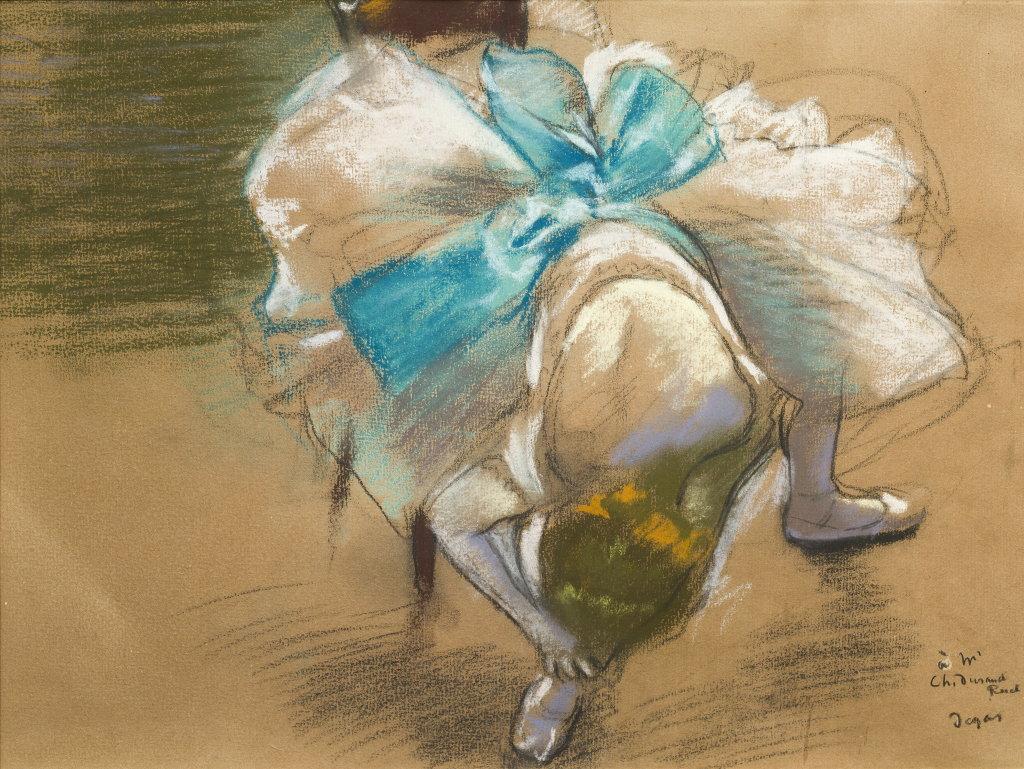 Edgar_Degas_danseuse_rattachant_son_chausson
