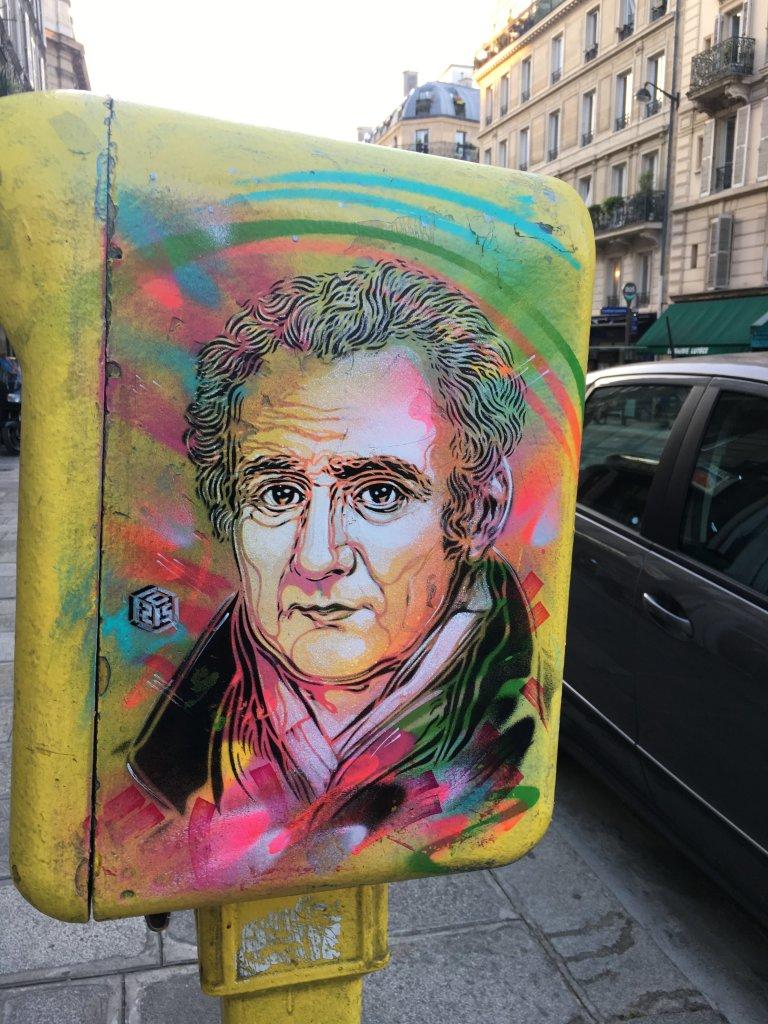 4. Gaspard Monge, à Paris par C215_C215