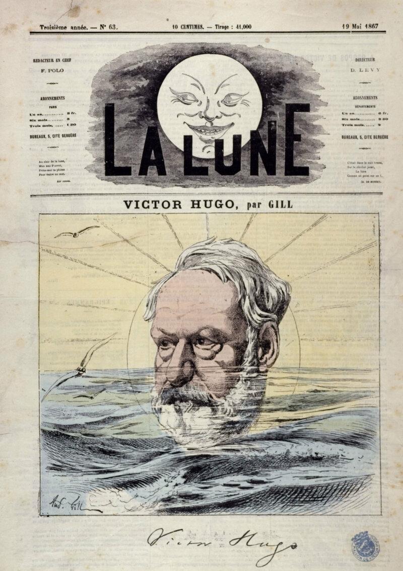 André Gill (André Gosset de Guines, dit - 1840-1885).