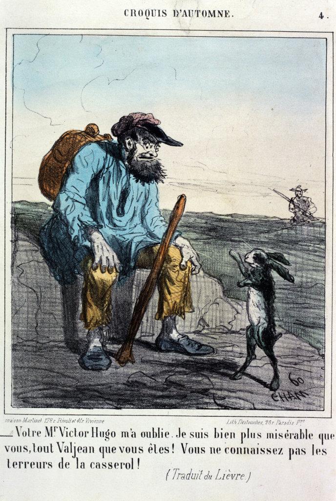 Croquis D'automne - Votre Monsieur Victor Hugo m'a oublié...