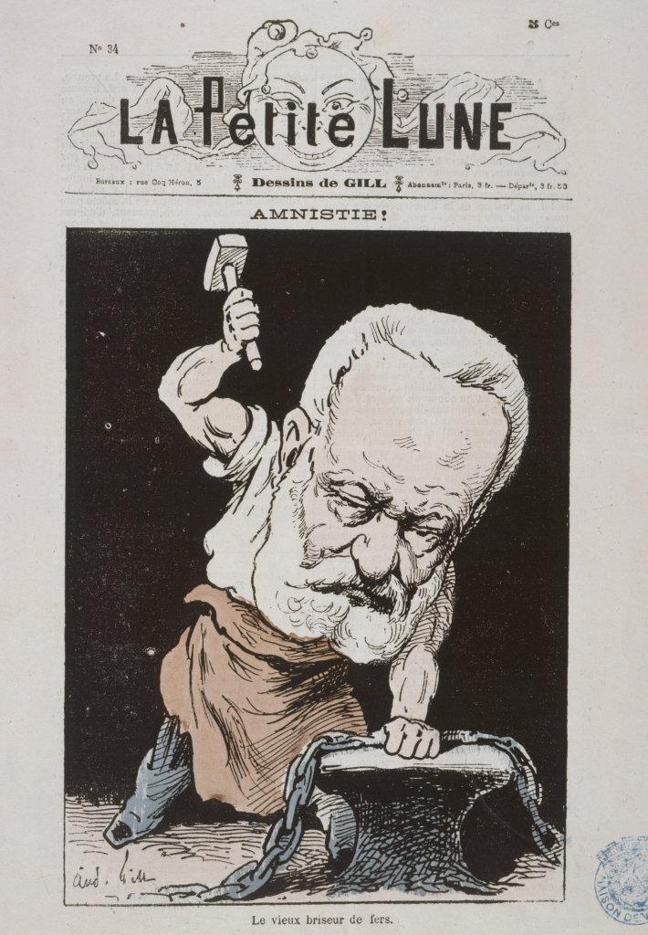 Amnistie, le vieux briseur de fer