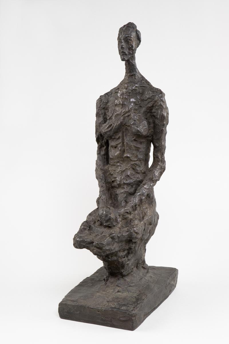 Alberto Giacometti - Femme assise - © Succession Alberto Giacometti (Fondation Giacometti, Paris + ADAGP, Paris) 2018